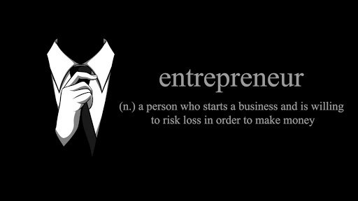as an entrepreneur