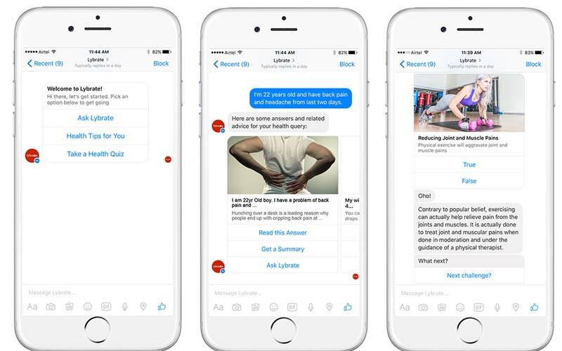 facebook chat bots