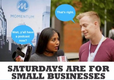 small business saturday by Momentum Digital