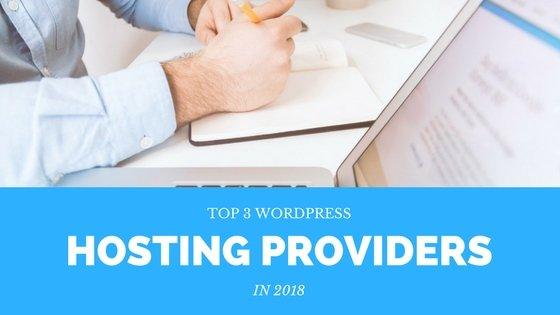 hosting providers wordpress