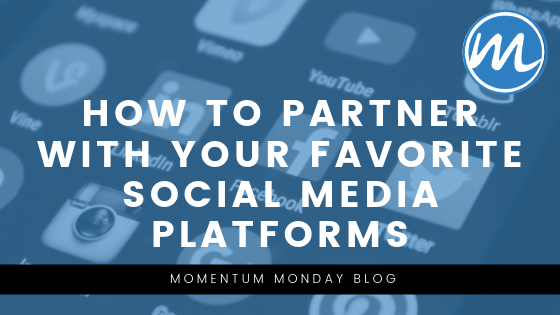 how to partner with social media