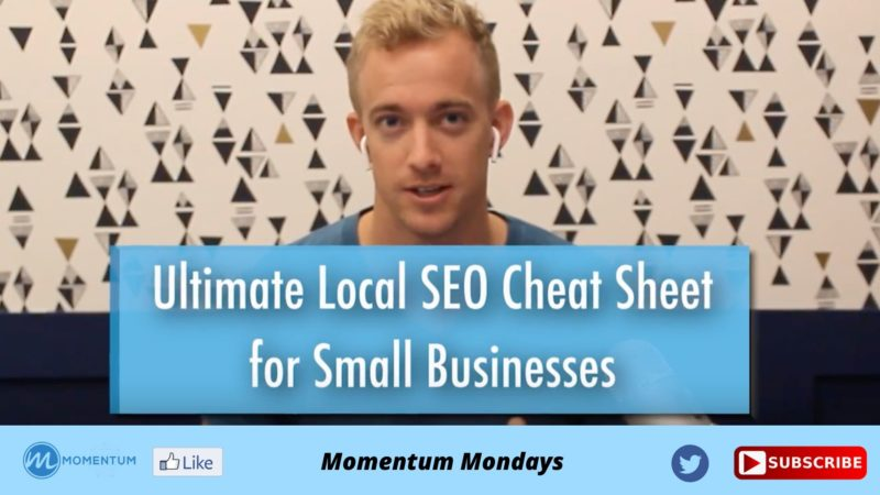 Momentum Monday Ultimate SEO for Small Business