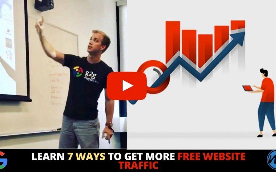 7 ways to Get more Free Website Traffic