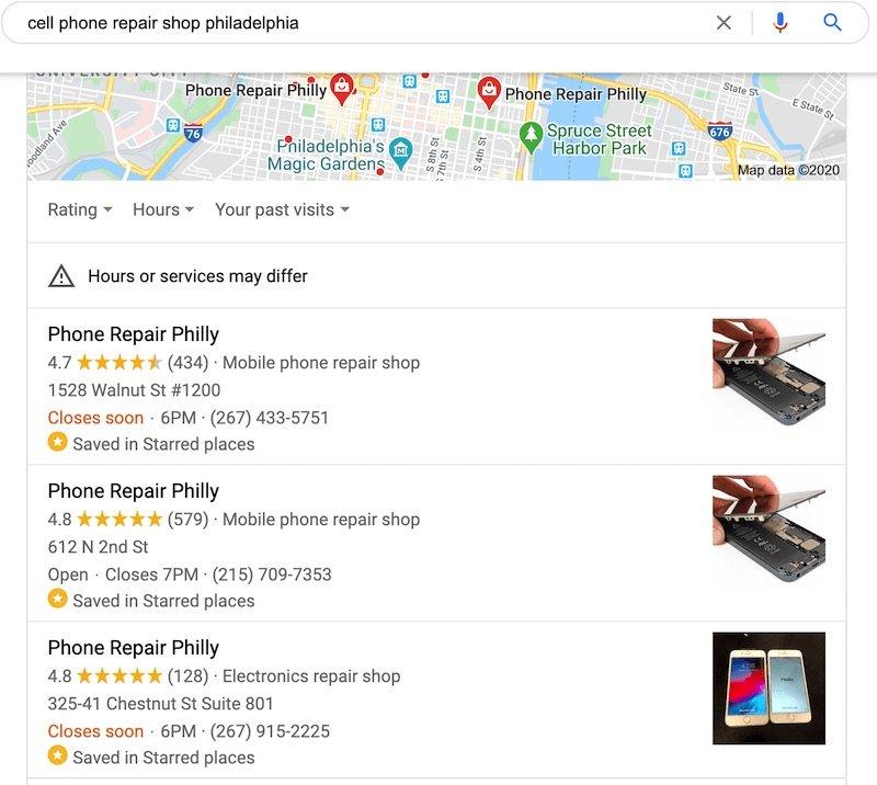 Phone Repair Philly seo