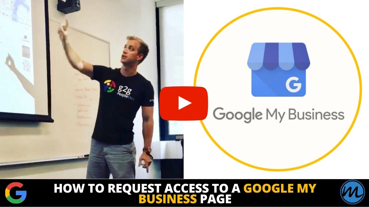 How to Request Access to a Google My Business Page