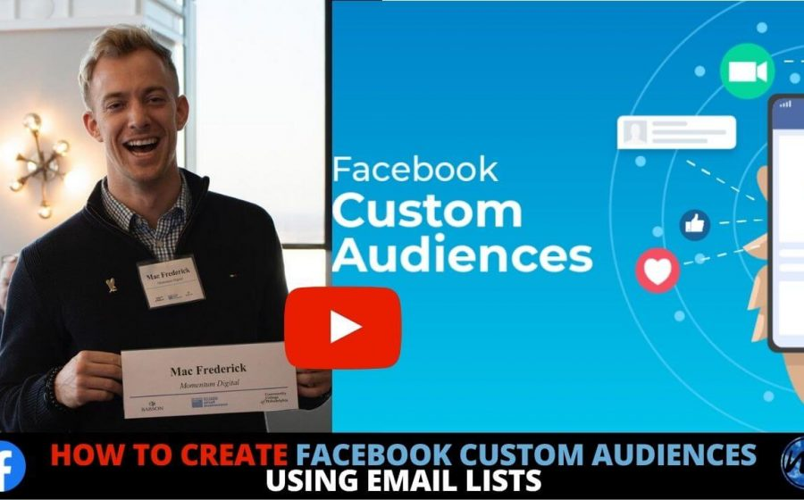 Facebook Custom Audiences Using Email Lists