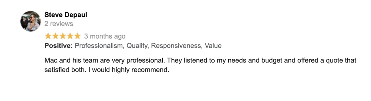 Steve Google Review