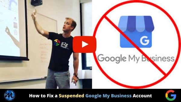 Suspended Google My Business