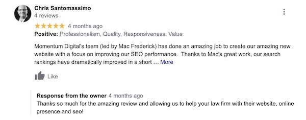 Local SEO review