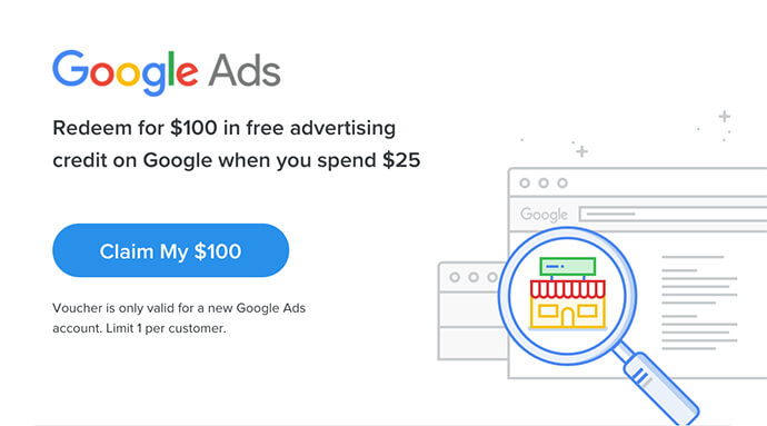 Google Ads promo code